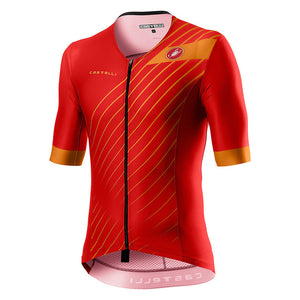 Castelli Free Speed 2 Race Tri-Top (Red/Fiery Red)