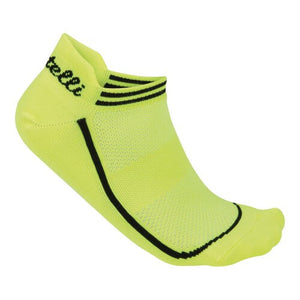 Castelli Women's Invisible Sock (Yellow Fluo)