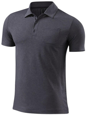 Specialized Tee Utility Polo (Carbon Heather)