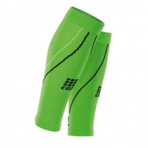 CEP Compression Pro+ Calf Sleeves 2.0 - Night Edition (Flash Green)