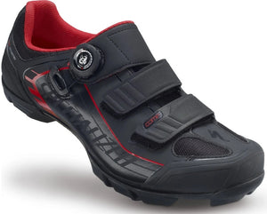 Specialized Comp Shoes (Black/Red)
