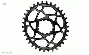 absoluteBLACK SRAM 1x GXP Direct Mount Oval Chainring