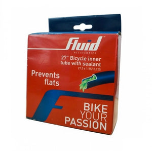Fluid 27.5inch Inner Tube With Sealant (Presta)