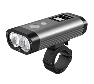 Ravemen PR1200 Rechargeable Front Light (Grey) - BumsOnTheSaddle