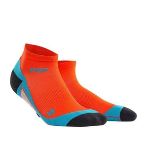 CEP Compression Dynamic+ Low Cut Socks (Sunset/Hawaii Blue) - BumsOnTheSaddle