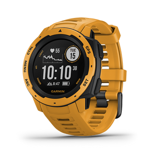 Garmin Instinct Rugged GPS Watch (Sunburst)