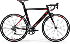 Merida Reacto 500 Frame Kit (Black/Red/Silver)