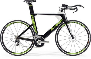 Merida Warp Tri 5000 Frame Kit (Black/Green/White)