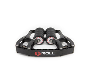 ROLL Recovery R8 Deep Tissue Massage Roller (Carbon Black)