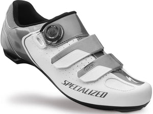 Specialized Comp Shoes (White/Titanium)