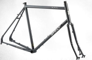 Surly Disc Trucker Frameset (BITUMINOUS GRAY)