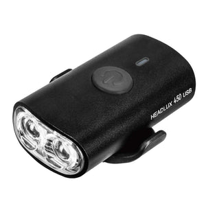 Topeak Headlux 450 USB Rechargeable Front Light (Black)