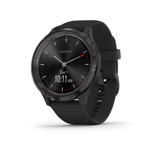 Garmin Vivomove 3 Smart Watch (Slate Black/Silicone)