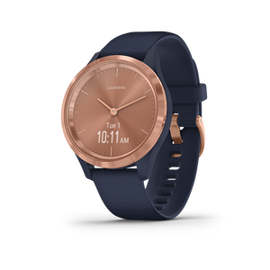 Garmin Vivomove 3S Smart Watch (Rose Gold/Navy)