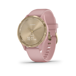 Garmin Vivomove 3S Smart Watch (Light Gold/Dust Rose)