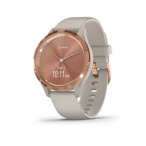 Garmin Vivomove 3S Smart Watch (Rose Gold/Light Sand)
