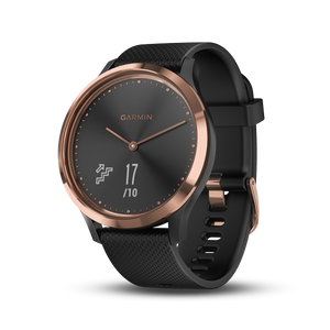 Garmin Vivomove HR Smart Analog Watch (Rose Gold/Black)