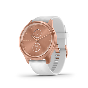 Garmin Vivomove Style Smart Watch (Gold/White)