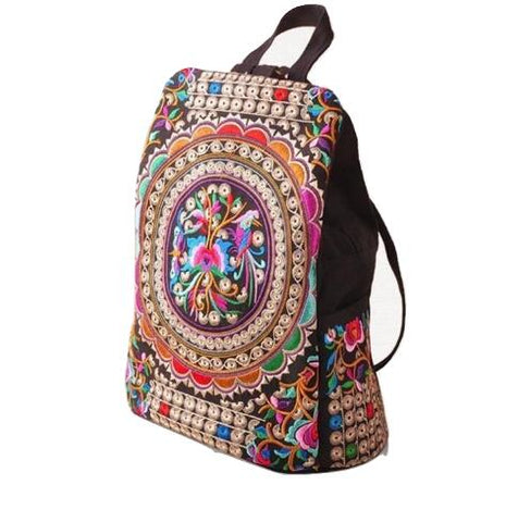 Gorgeous Handmade Embroidered, Messenger Bag, Travel Bags, School bag, Backpacks