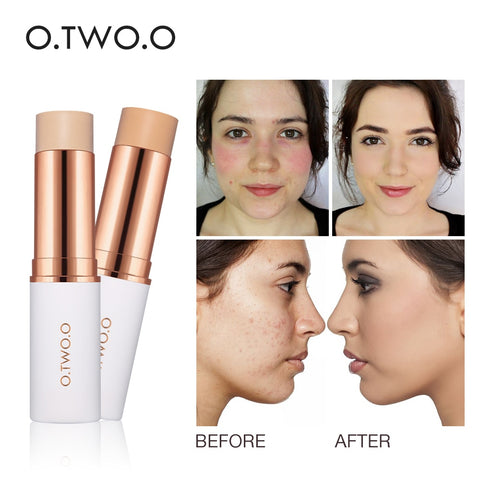 Skin Whitening Concealer Stick, Makeup Facial Moisturizing Base Cream