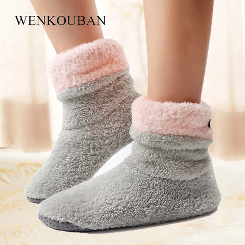 Cozy Slippers, Fleece Indoor Shoes, Warm Fluffy and Soft Slippers, Chaussures Femme