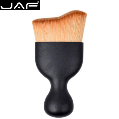 S Shape Makeup Brush, Wave Arc Curved Shape