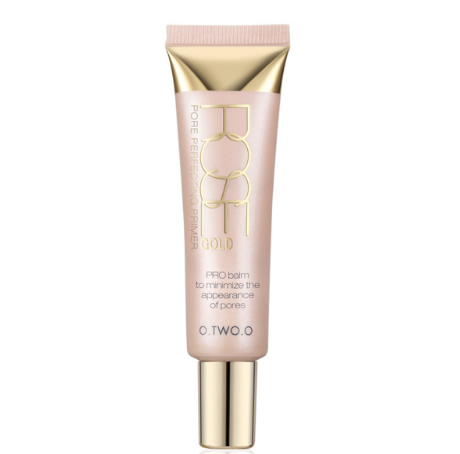 Rose Gold Base Foundation Primer Makeup Cream Sunscreen Moisturizing Oil Control
