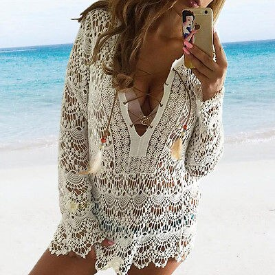 Bohemian Lace Cover Up