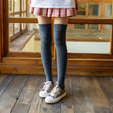Thigh High Non-Slip Socks, Silicone non-slip knee socks, Japanese Over the Knee Socks