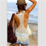 Gorgeous Lace Beach Cover Up
