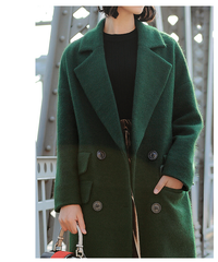 AERIN Longline Wool & Mohair Coat - available in 8 colors