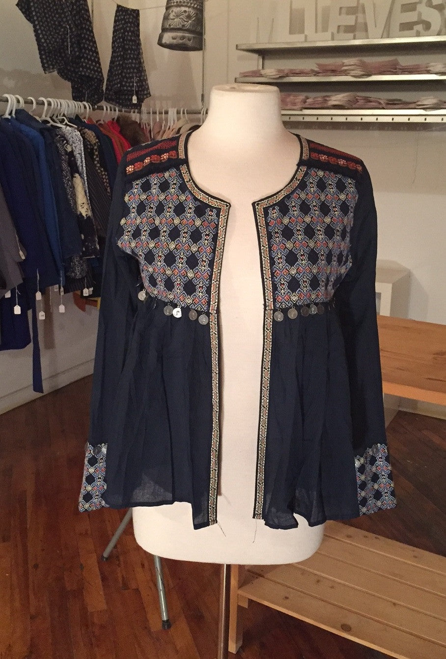 JIHANE Embroidered Jacket - 2 colors available - Mademoiselle Veste - 1