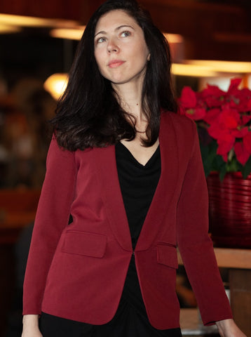 GEMMA Shawl Collar Blazer - 2 colors available