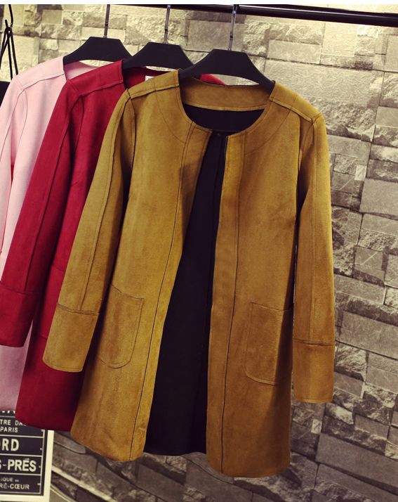 JUNE Suede Jacket - 8 colors available