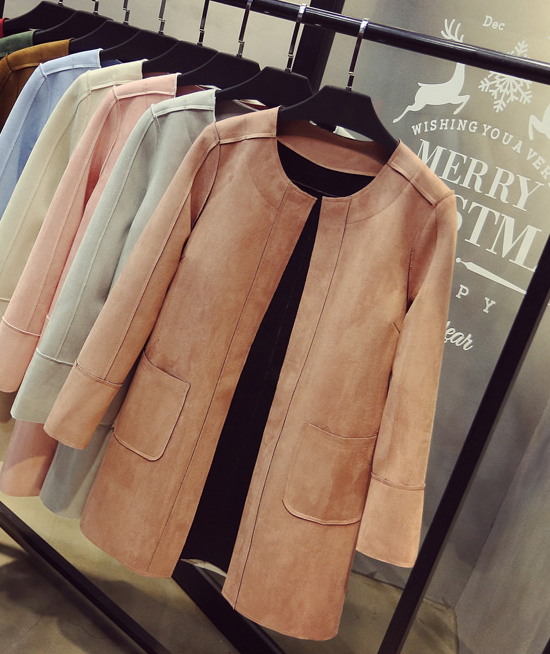 JUNE Suede Jacket - 5 colors available
