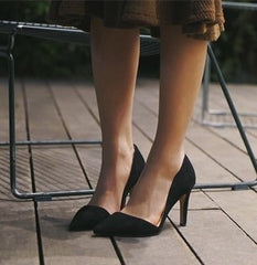 REN d'Orsay Pointy Toe Pumps