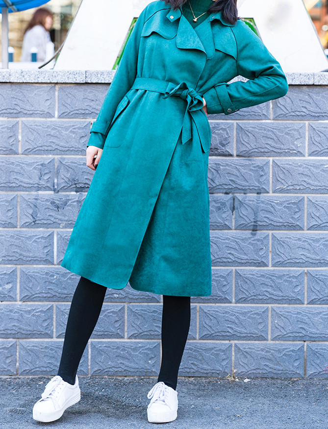 SYLVIA Trench Coat - 3 colors available
