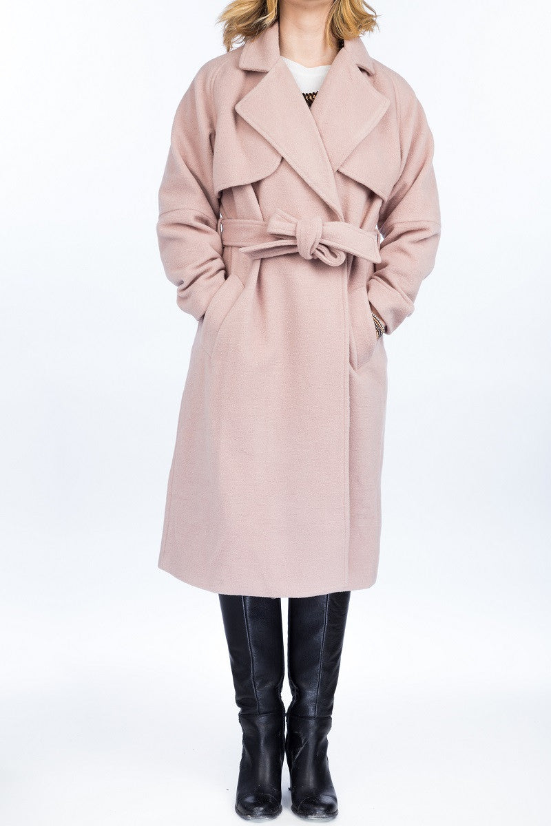BETTY Wool coat - 2 colors available - Mademoiselle Veste - 1