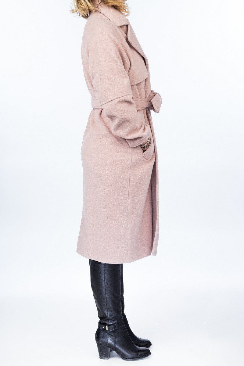 BETTY Wool coat - 2 colors available - Mademoiselle Veste - 3