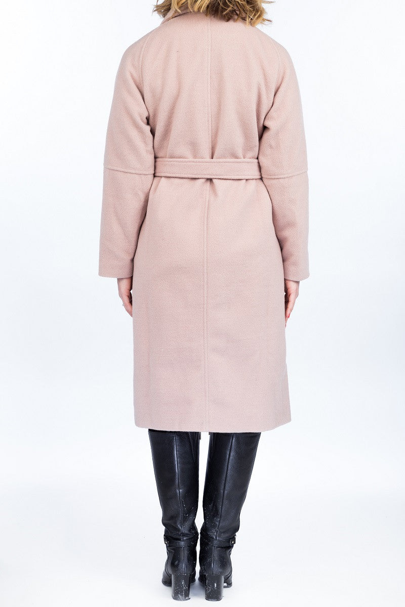 BETTY Wool coat - 2 colors available - Mademoiselle Veste - 5