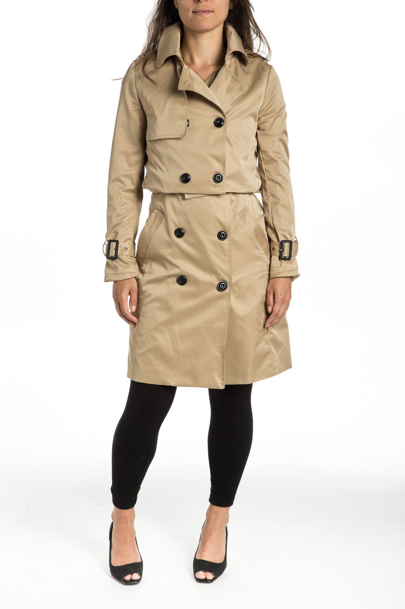 AMANI 3-in-1 Trench Coat - 2 colors available - Mademoiselle Veste - b0b0919e66