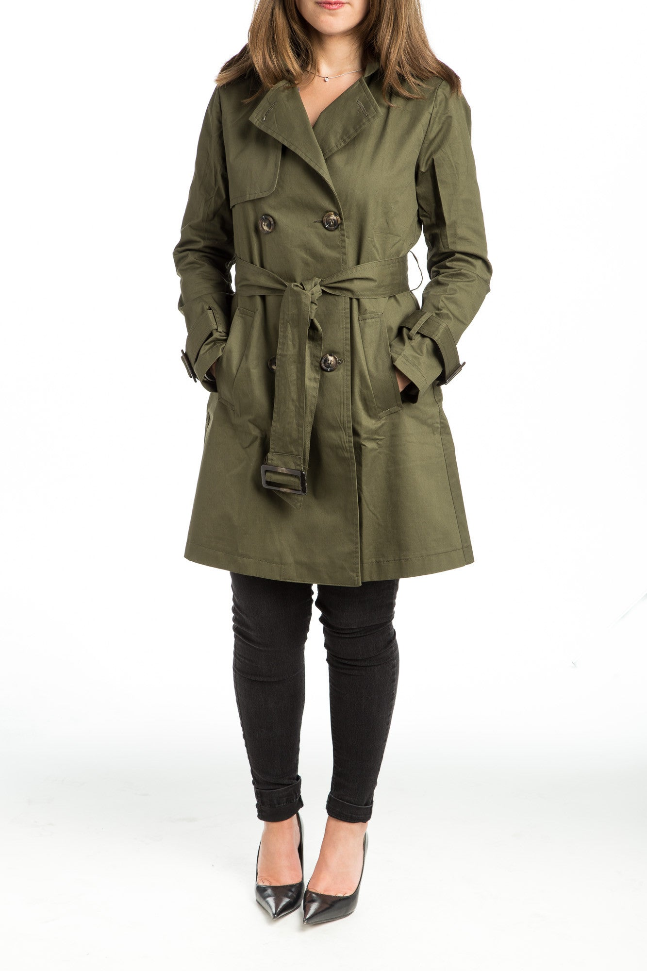 SHERA Trench Coat - 2 colors available - Mademoiselle Veste - 5