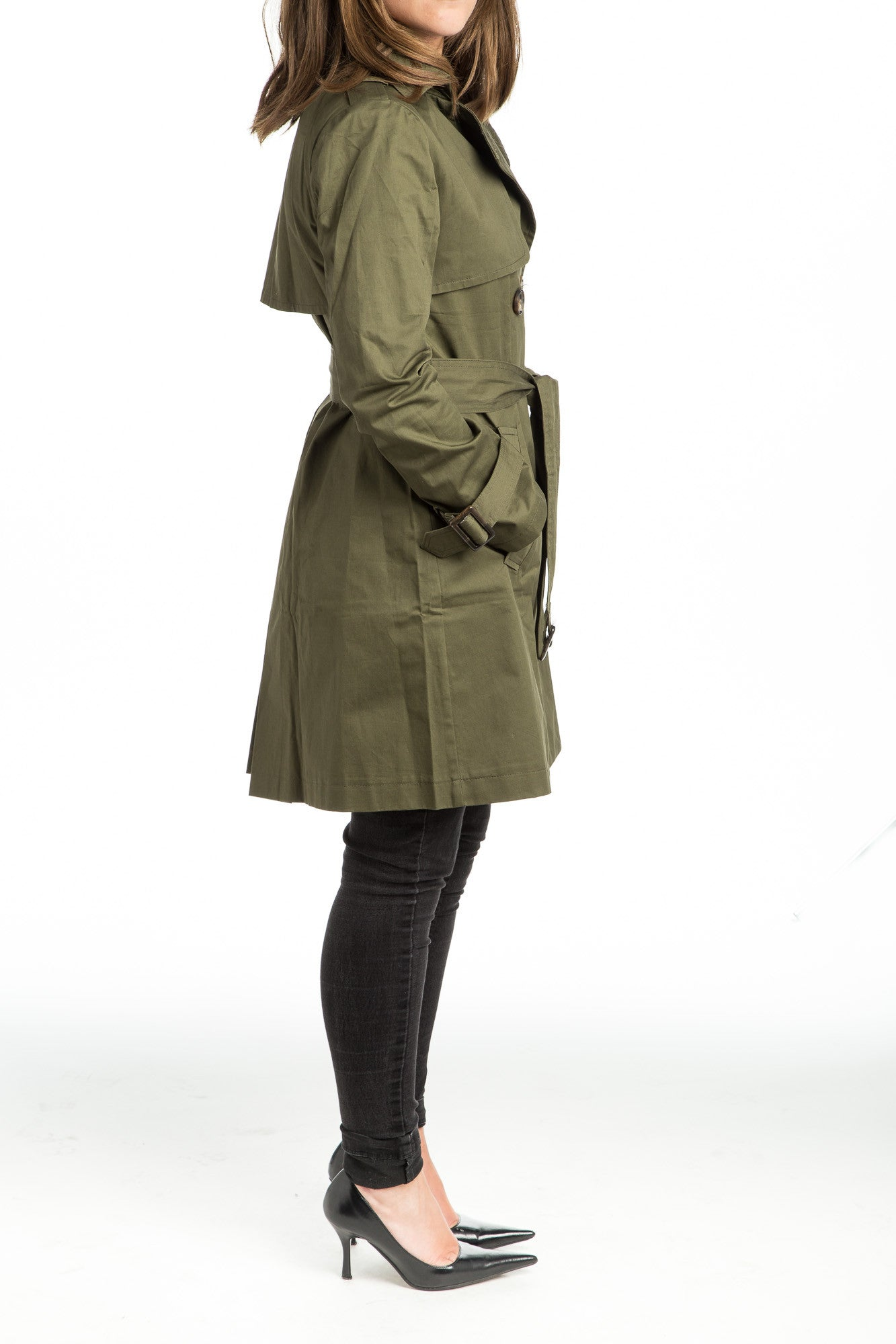 SHERA Trench Coat - 2 colors available - Mademoiselle Veste - 6