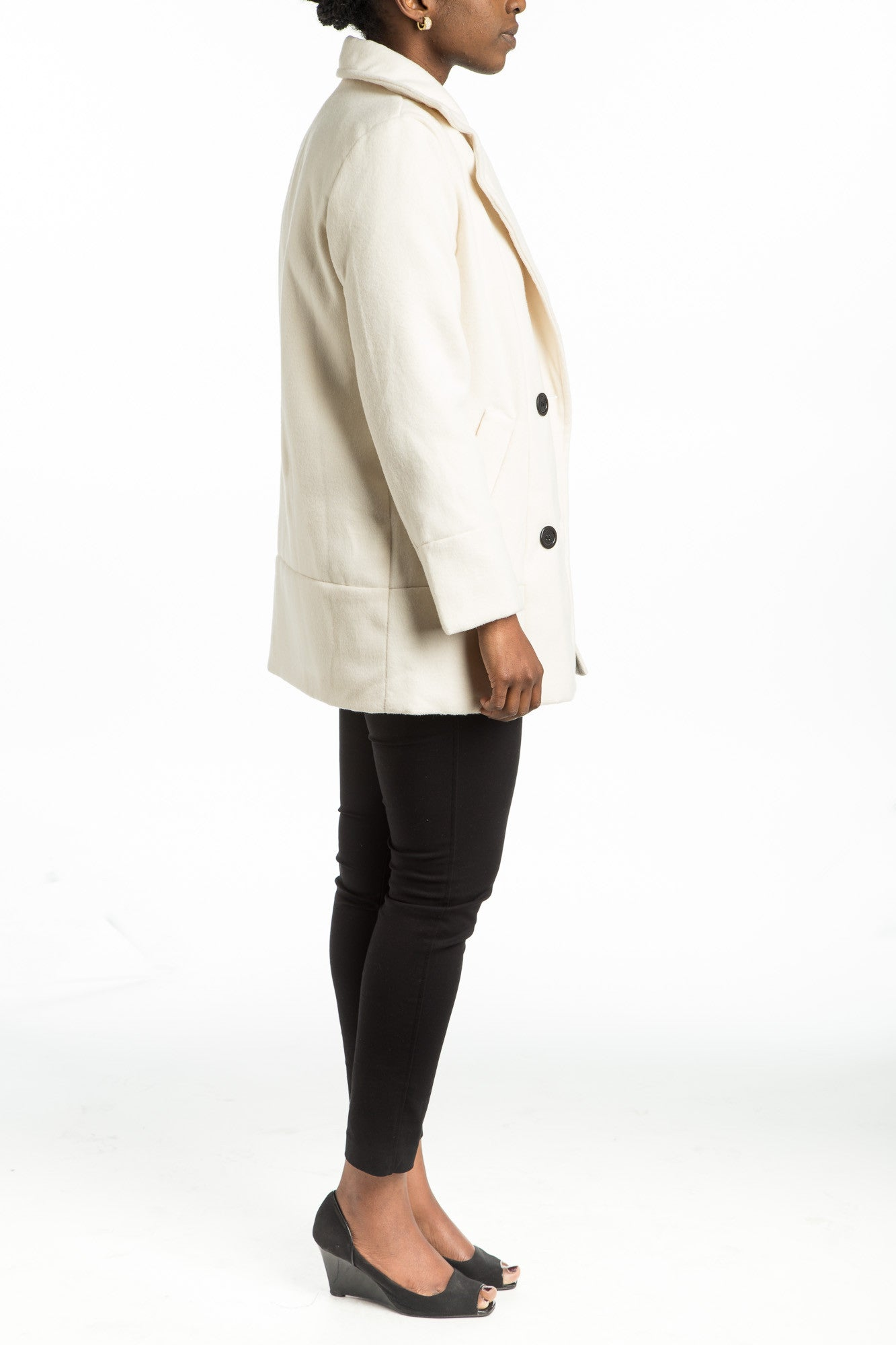 AXELLE Wool Coat - 2 colors available - Mademoiselle Veste - 3