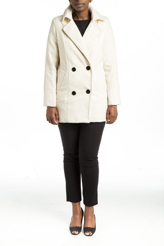 AXELLE Wool Coat - 2 colors available - Mademoiselle Veste - 1