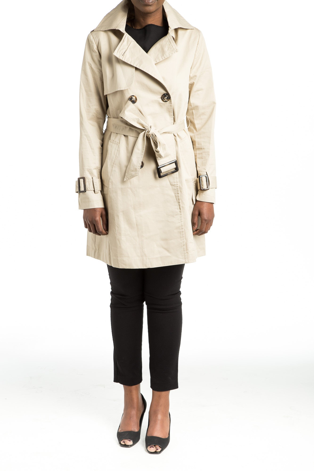 SHERA Trench Coat - 2 colors available - Mademoiselle Veste - 3