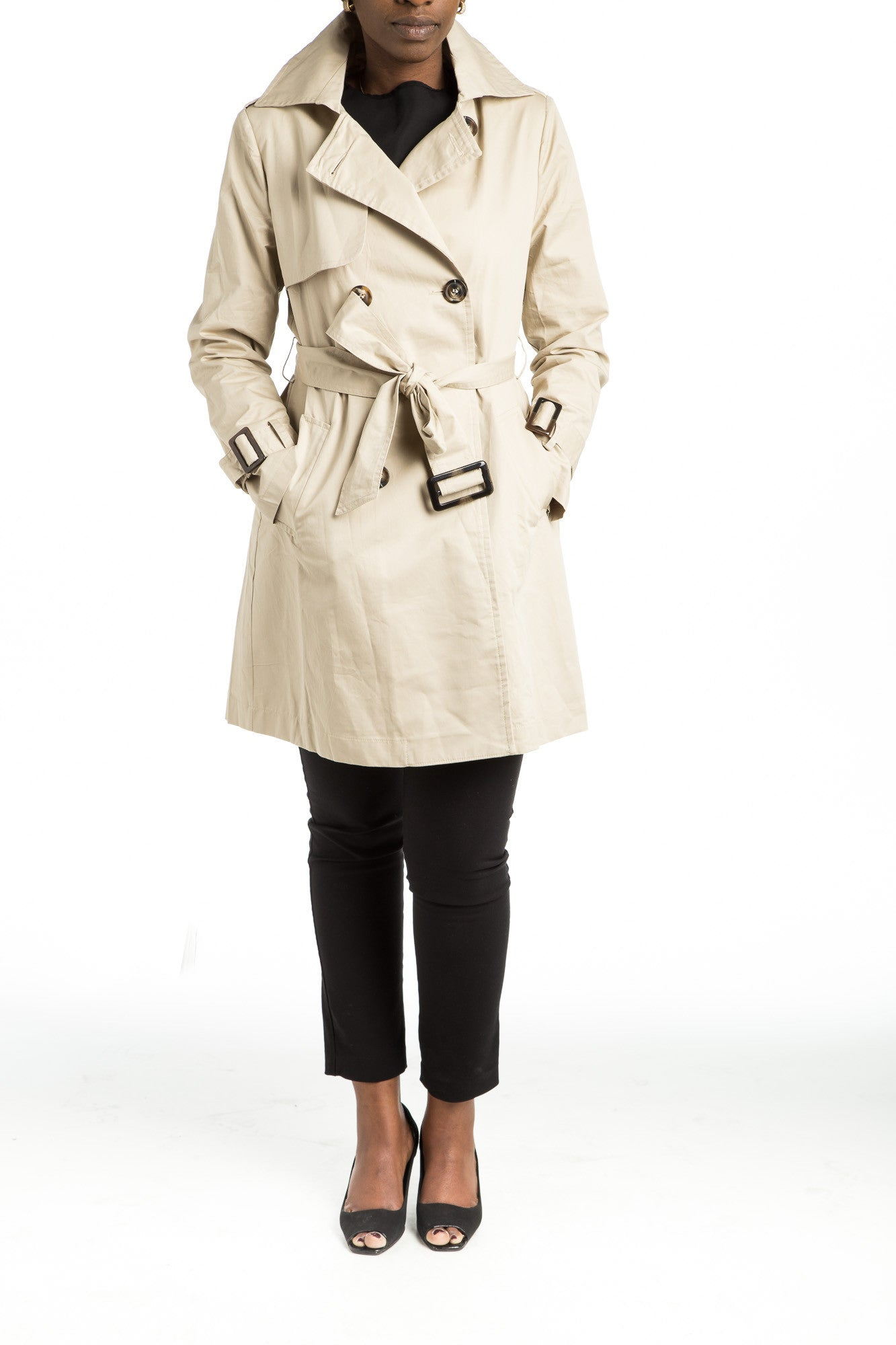 SHERA Trench Coat - 2 colors available - Mademoiselle Veste - 1