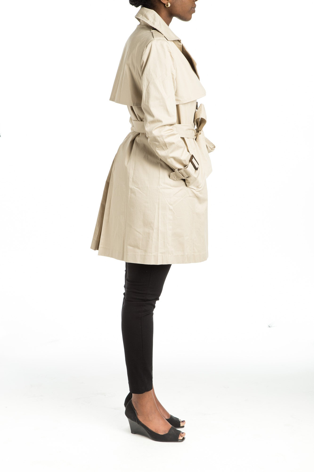 SHERA Trench Coat - 2 colors available - Mademoiselle Veste - 2
