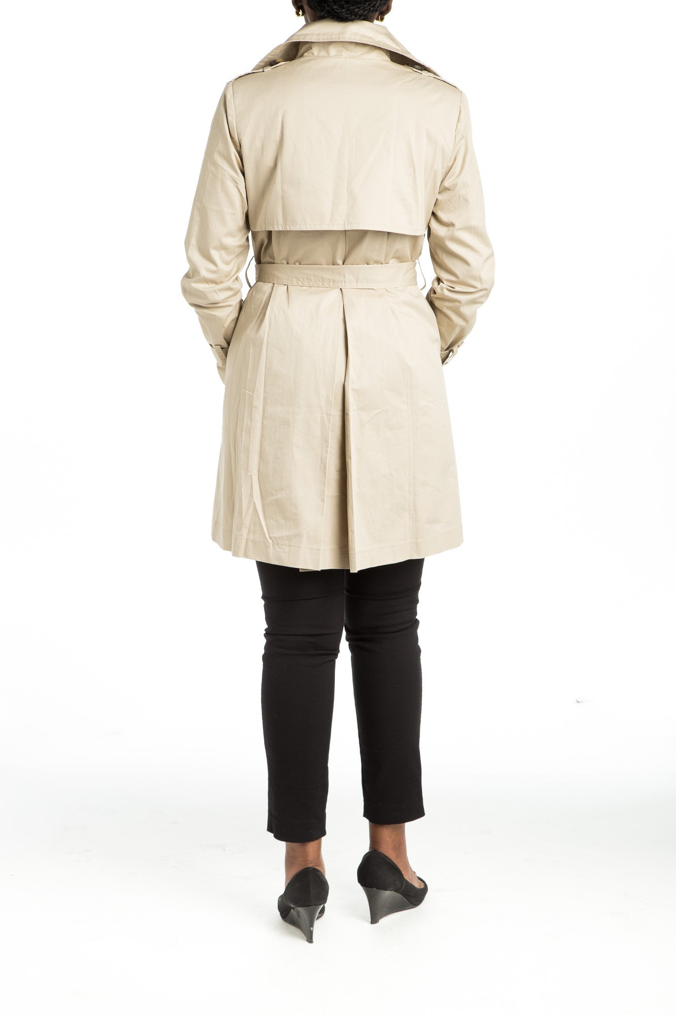 SHERA Trench Coat - 2 colors available - Mademoiselle Veste - 4