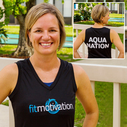 Fitmotivation Shirt - Ladie's Black